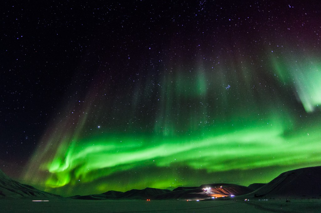 Northern Lights are best to see outside of Longyearbyen - Copyright: Tommy Dahl Markussen