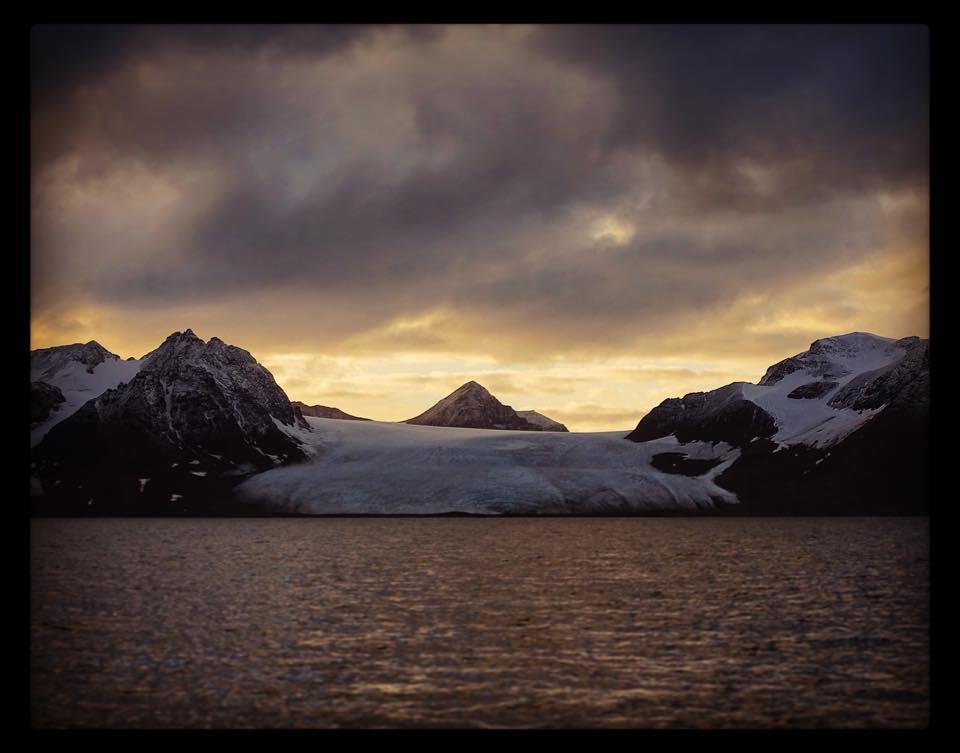 Sunset, Forlandet Svalbard