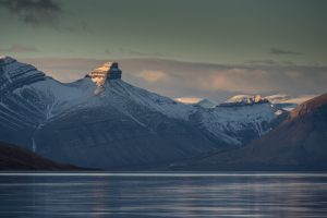 Mountains on Spitsbergen, Svalbard