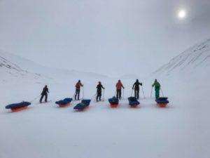 Arctic mist, Spitsbergen Svalbard
