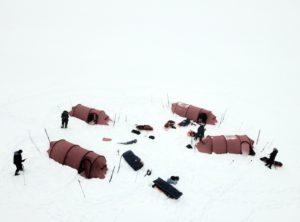 Camp, spitsbergen, Svalbard